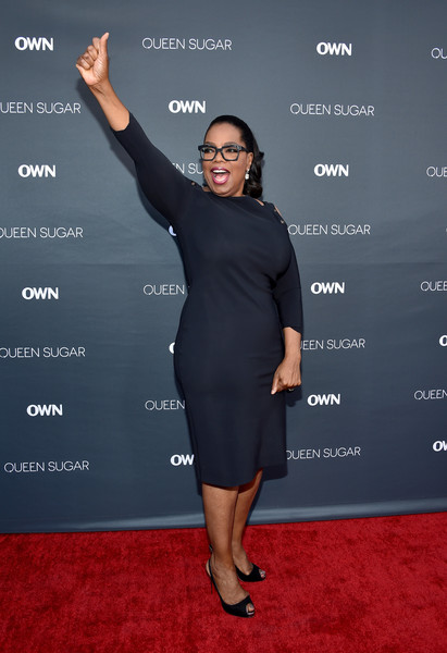 "Executive producer Oprah Winfrey attends OWN: Oprah Winfrey Network's ""Queen Sugar"" premiere at the Warner Bros. Studio Lot Steven J. Ross Theater on August 29, 2016 in Burbank, California."
