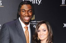Robert-Griffin-III-and-Fiance-Rebecca