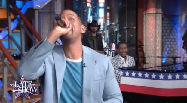 """Will Smith sings """"Summertime"""" on The Late Show with Stephen Colbert"""