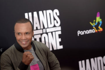 Hands of Stone, Sugar Ray Leonard