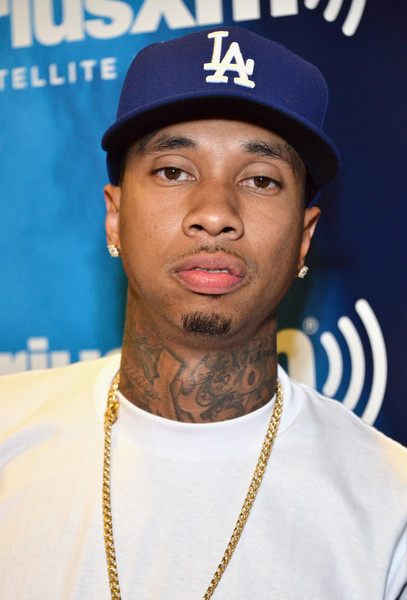 Recording artist Tyga attends the radio broadcast center during the 2016 BET Experience at the JW Marriott Los Angeles L.A. Live on June 24, 2016 in Los Angeles, California.