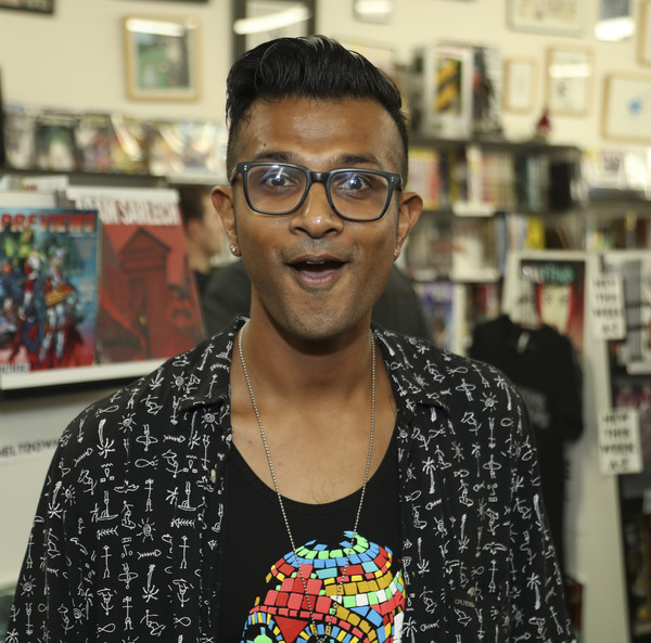 Utkarsh Ambudkar attends D & D Live at Meltdown Comics and Collectibles on June 1, 2016 in Los Angeles, California.
