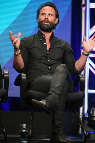 Walton Goggins speaks onstage during the 'Vice Principals' panel discussion at the HBO portion of the 2016 Television Critics Association Summer Tour at The Beverly Hilton Hotel on July 30, 2016 in Beverly Hills, California.
