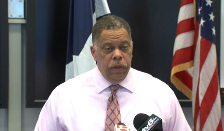 Assistant Chief Randall Taylor addressed reporters about the shooting.