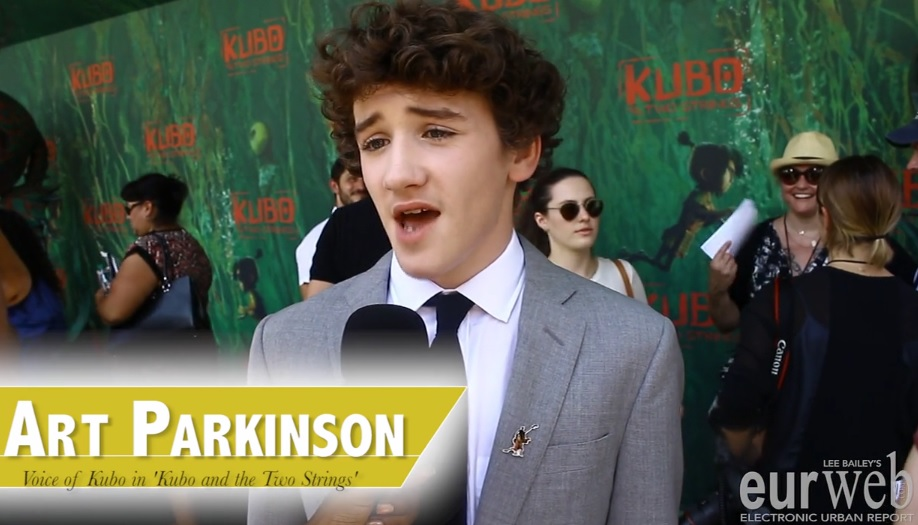 Art Parkinson at 'Kubo And The Two Strings' L.A. premiere