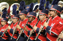 Ole Miss band Pride of the South
