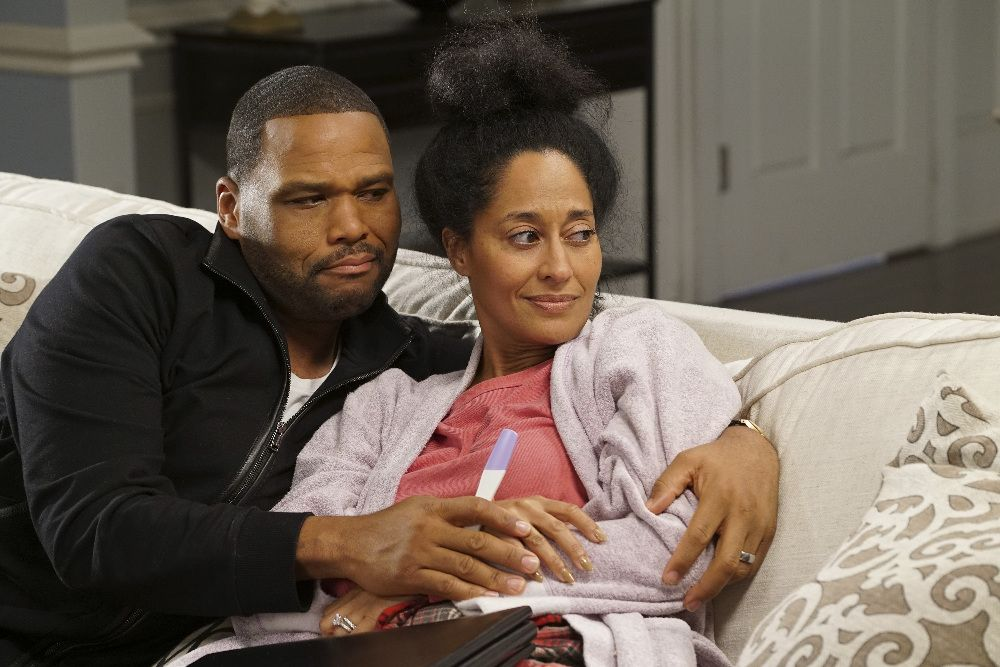 Anthony Anderson and Tracee Ellis Ross, Black-ish | Photo Credits: Ron Tom, ABC