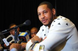 carmelo anthony (at mic)