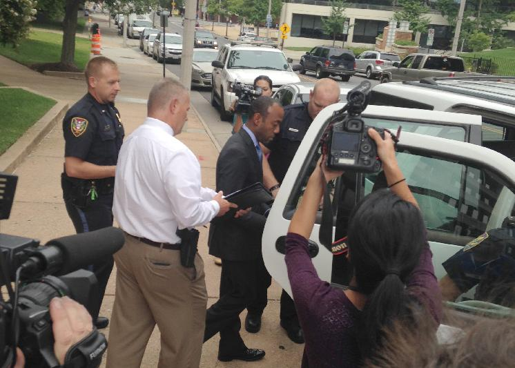 cornell william brooks (naacp) being arrested