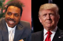 creflo dollar & donald trump