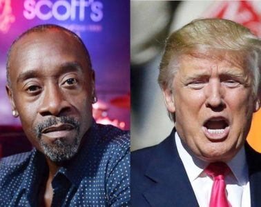don cheadle - donald trump