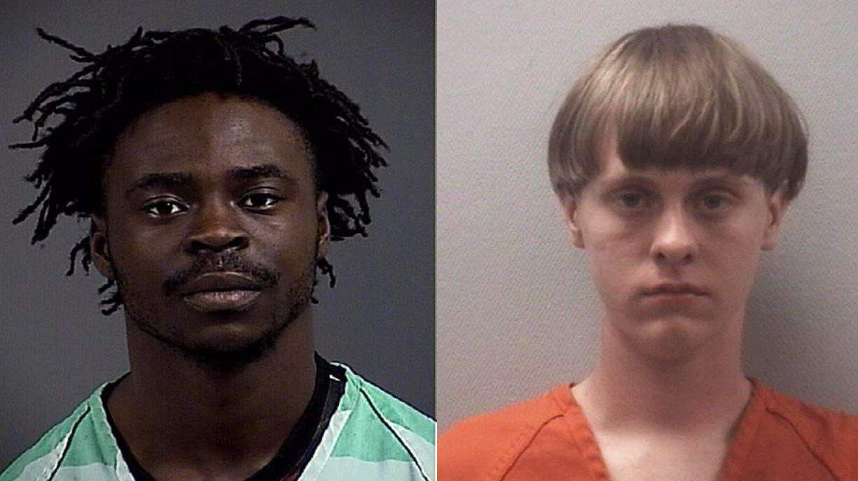 Dwayne Stafford and Dylann Roof