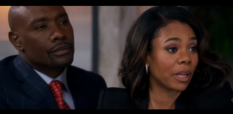 Regina Hall & Morris Chestnut in a scene from 'When the Bough Breaks'