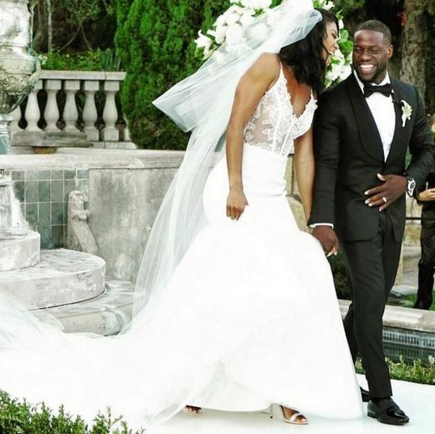 kevin hart & eniko parrish - wedding