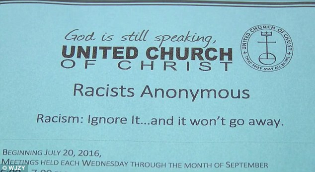 racism anonymous flyer