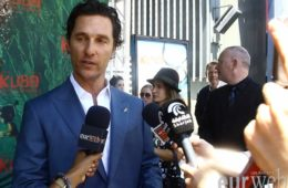 Matthew McConaughey at 'Kubo And The Two Strings' L.A. premiere