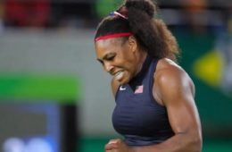 serena williams - losing at rio olympics