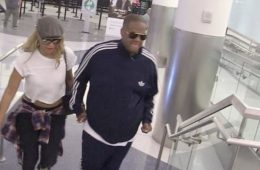 tamar & vince (arriving at lax)