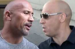 the rock & vin diesel