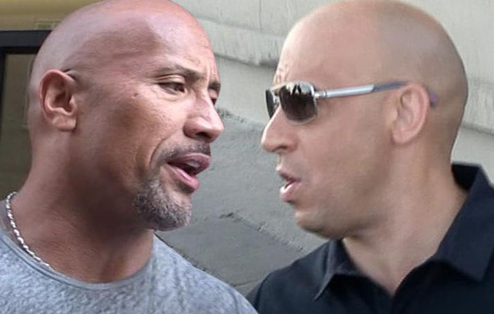 Dwayne Johnson Doesn't Regret Calling Out 'Candy Ass' Vin Diesel
