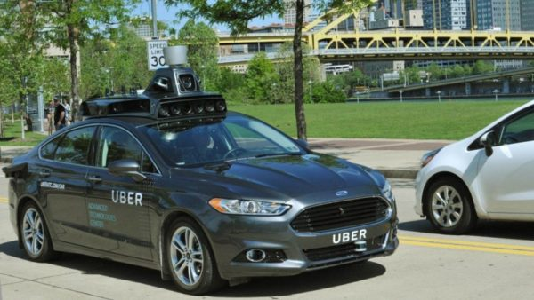 Uber's first self-driving car.