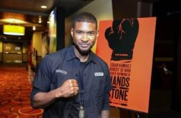 Hands of stone, usher , keri hilson