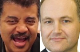 Neil deGrasse Tyson and Neal Larson
