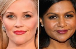 Reese Witherspoon (L) and Mindy Kaling (Getty Images)