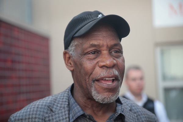 Actor Danny Glover makes a campaign stop with Democratic presidential candidate Senator Bernie Sanders (D-VT) at City College of San Francisco on June 6, 2016 in San Francisco, California.