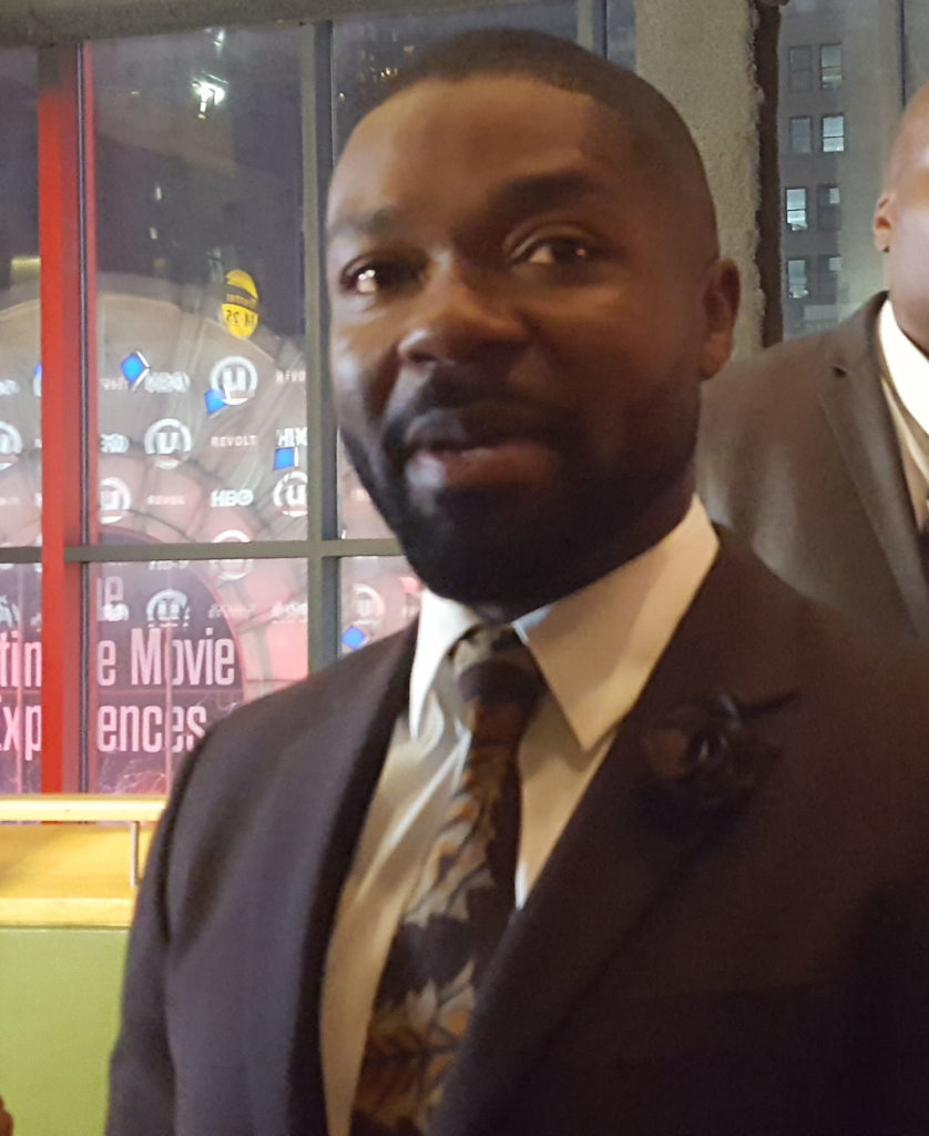 David Oyelowo speaks to EUR on Red Carpet at UWFF20. (MMoore photo)