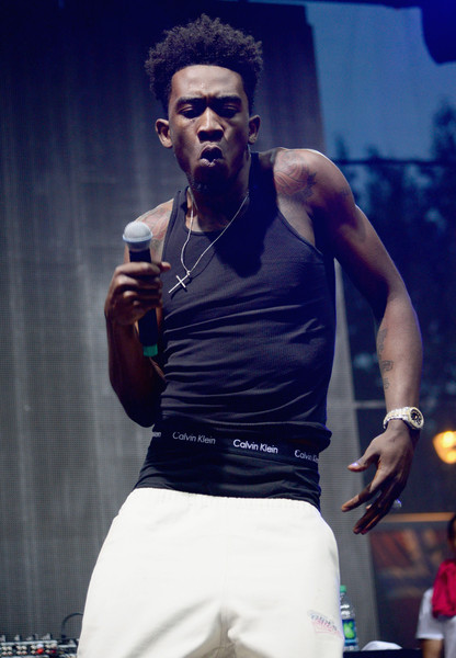 Rapper Desiigner performs onstage during the 2016 Budweiser Made in America Festival - Day 2 at Benjamin Franklin Parkway on September 4, 2016 in Philadelphia, Pennsylvania.