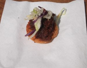 Doomies Home Cookin'-Pulled Pork Canapes