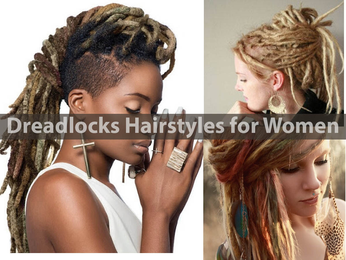 Dreadlock hairstyles for women pictures