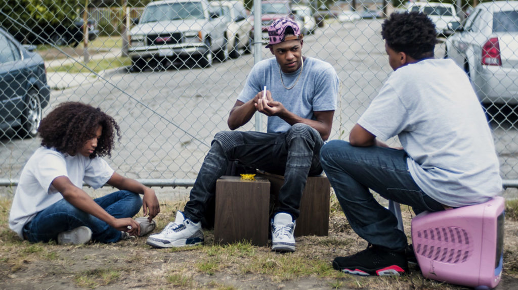 (L-r) Jahking Guillory, Christopher Meyer, and Christopher Jordan Wallace.