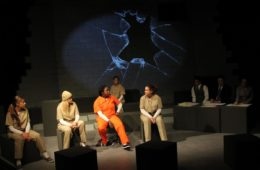 """Life Without Parole,"" a scene from the Vanguard University production, centers around domestic violence survivors who've killed their abusers."