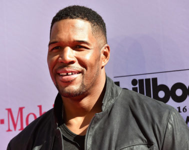 TV personality/retired NFL player Michael Strahan attends the 2016 Billboard Music Awards at T-Mobile Arena on May 22, 2016 in Las Vegas, Nevada.