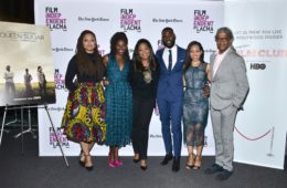 Ava DuVernay, Rutina Wesley, Oprah Winfrey, Kofi Siriboe, Dawn-Lyen Gardner and Elvis Mitchell attend Film Independent at LACMA (Photo by Araya Diaz/WireImage)