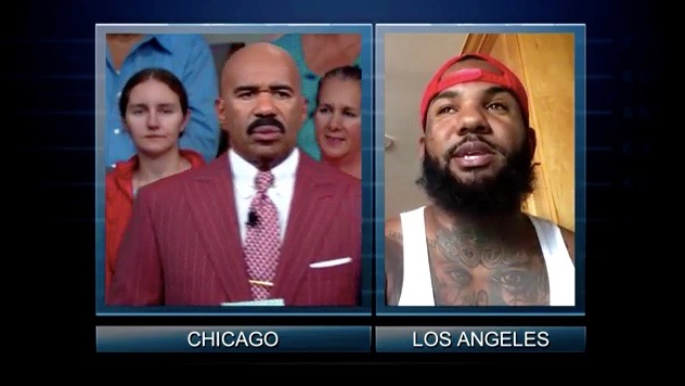 Steve Harvey and The Game