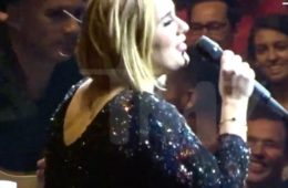 Adele at Madison Square Garden in NYC (Sept 20, 2016)