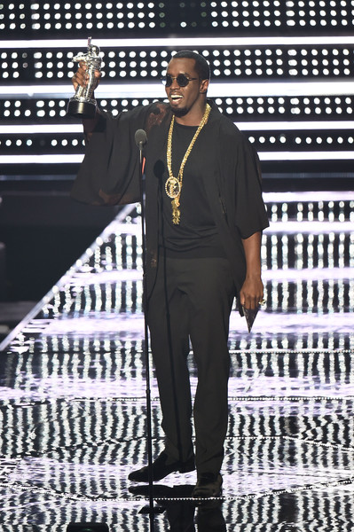 Sean 'Diddy' Combs speaks onstage during the 2016 MTV Video Music Awards at Madison Square Garden on August 28, 2016 in New York City.
