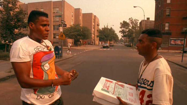 bill nunn & spike lee (in-do-the-right-thing)