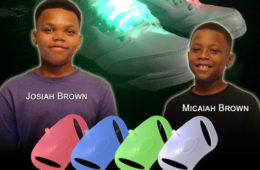 Kid Entrepreneurs Invent Lighting Gear for Sneakers
