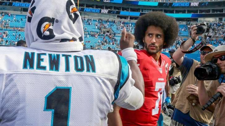 Cam Newton And Colin Kaepernick S Faceoff Is Fodder For Funny Memes Look Eurweb