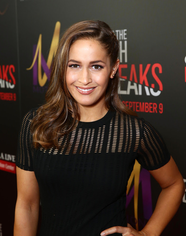 """Jaine Lee Ortiz attends the Screen Gems premiere of """"When the Bough Breaks"""" at Regal Cinemas L.A. Live on Sunday, August 28, 2016, in Los Angeles."""