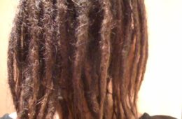 dreadlocks fromtheback