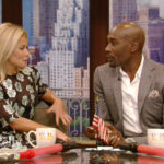 Kelly Ripa Didn't Miss Michael Strahan on 'Live': She Had Morris Chestnut