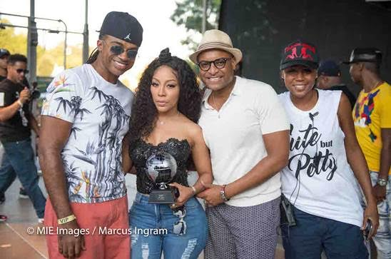 K. Michelle honored at Black gay pride event