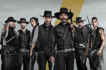 Academy Award winner Denzel Washington is Sam Chisolm the Bounty Hunter in Magnificent Seven.
