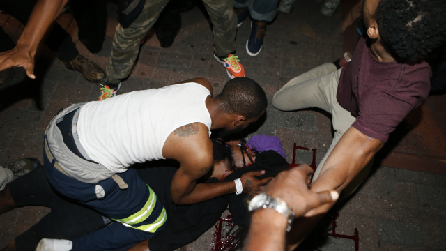 Man arrested, accused of killing man during Charlotte protests