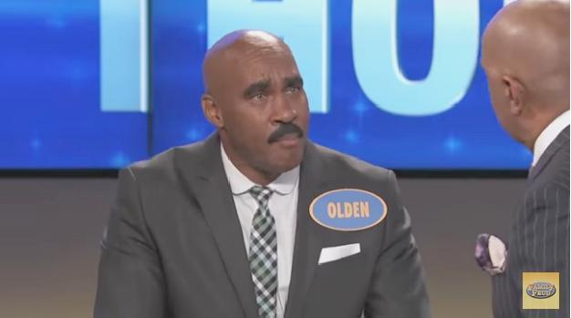 Steve Harvey meets his clone on 'Family Feud' and hilarity ensues